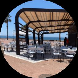 Chiringuito Samaná Playa - Gastronomía - Adra KMCero